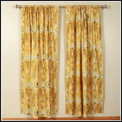 Thurlowe Rod Pocket Curtain Panel