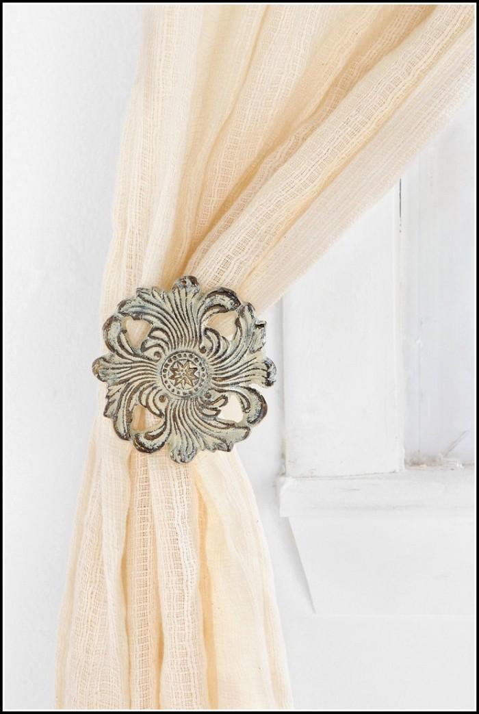 Vintage Rose Curtain Tie Backs Curtains Home Design Ideas Rndlbrnp8q33896