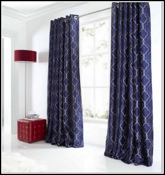Navy And White Striped Blackout Curtains Curtains Home