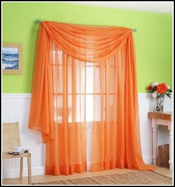 White And Orange Window Curtains Curtains Home Design Ideas R6dvyjvnmz30942