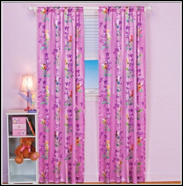 White Rod Pocket Curtain Panels