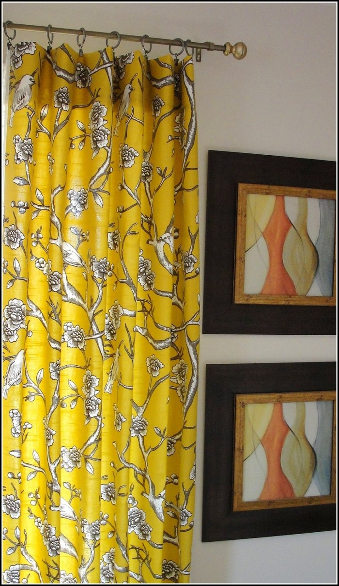 Yellow And Gray Curtains Target