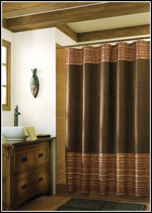 Yellow walls and blue curtains curtains home design for Brown and yellow walls