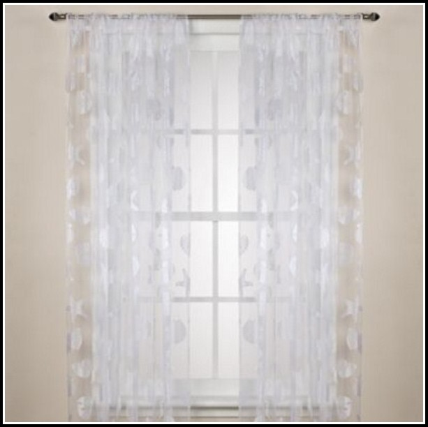 72 Inch Wide Sheer Curtains