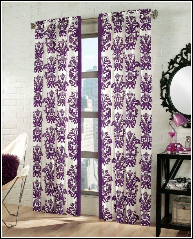 95 Inch White Cotton Curtains
