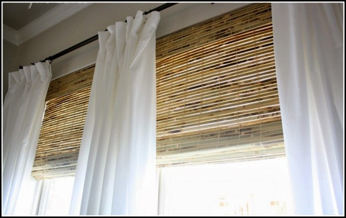Pictures Of Bamboo Blinds With Curtains Curtains Home Design Ideas K6dzmzenj236614
