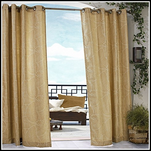 Belize Indoor Outdoor Grommet Curtain Panels