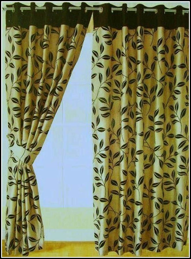 Black And Green Curtains Uk