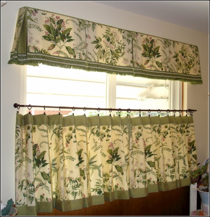 Black And Green Window Curtains