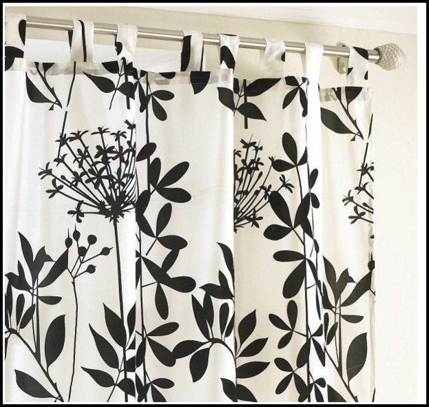 Black And White Damask Curtains Walmart Download Page