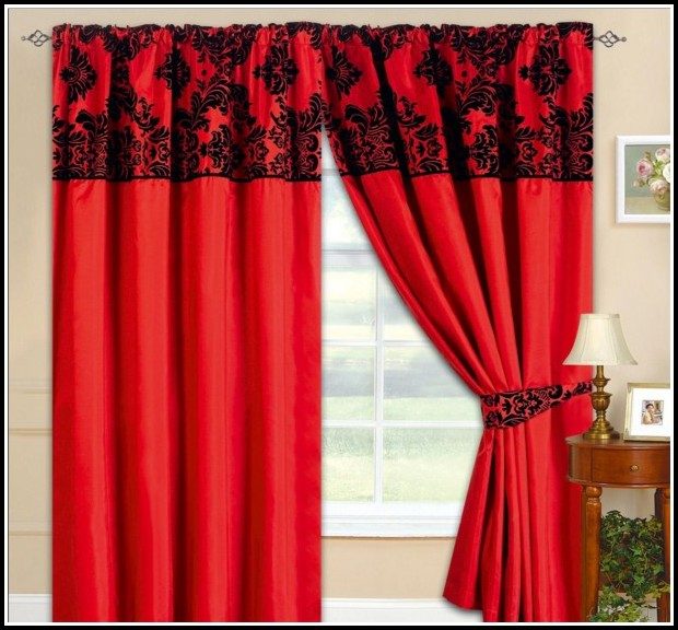 Black White Striped Window Curtains Curtains Home
