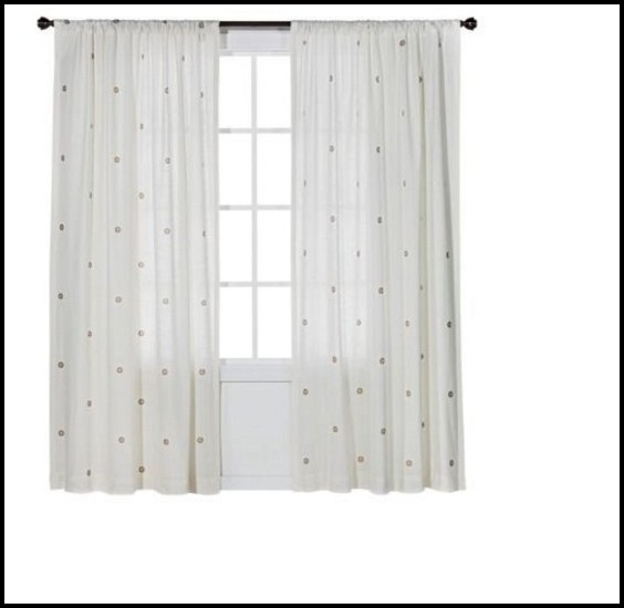 Black White Polka Dot Curtains