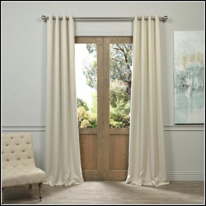 Blackout Curtain Panels For French Doors