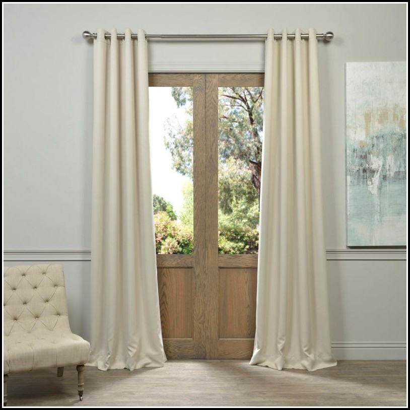 Blackout Curtain Panels For French Doors Curtains Home