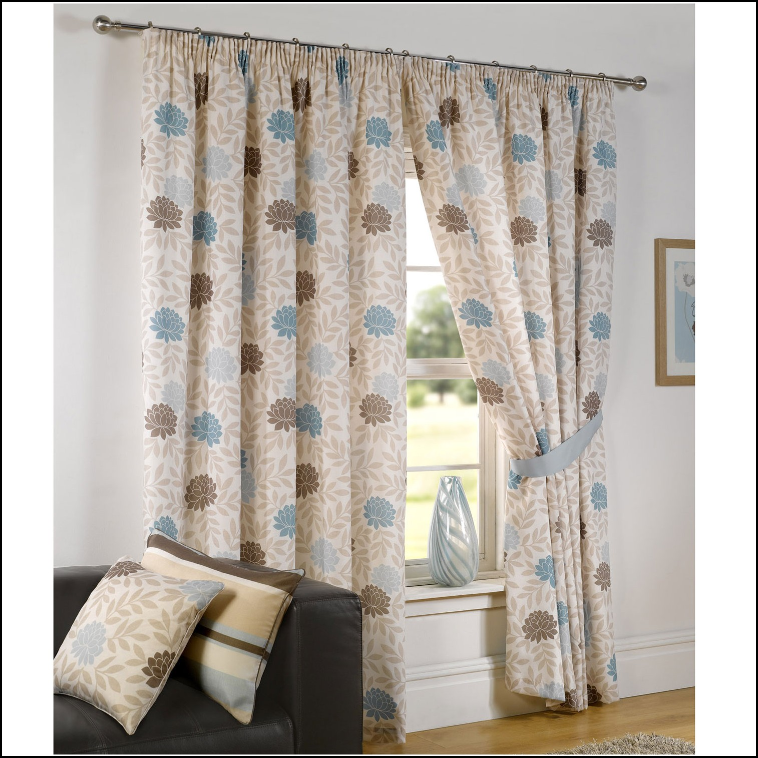 Blue And Pink Nursery Curtains Curtains Home Design Ideas Z5nknbop8634292