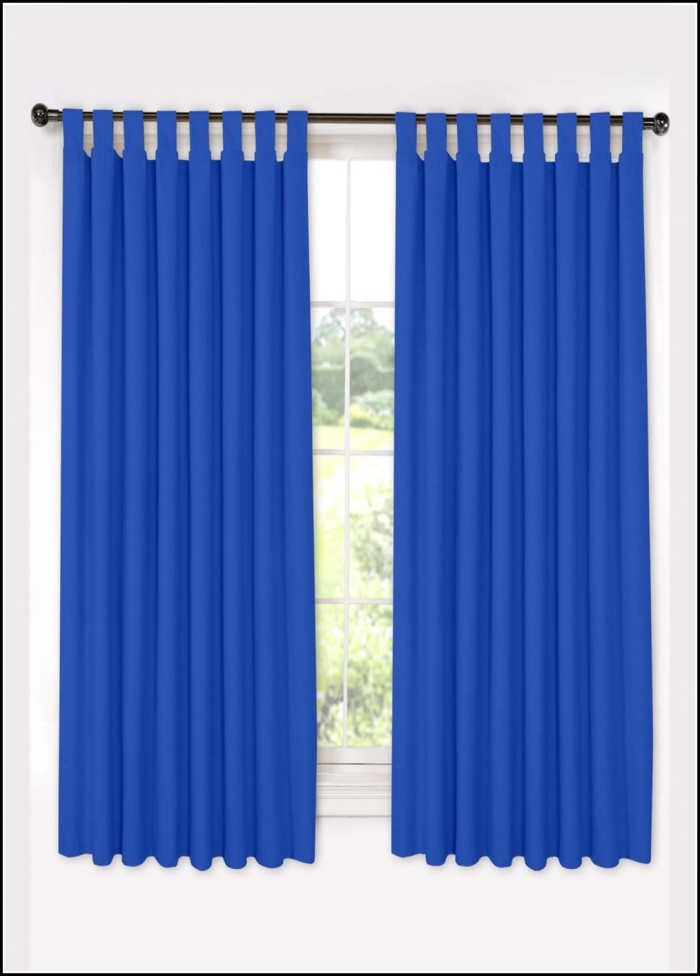 Blue Tab Top Curtains Uk Home Design Ideas