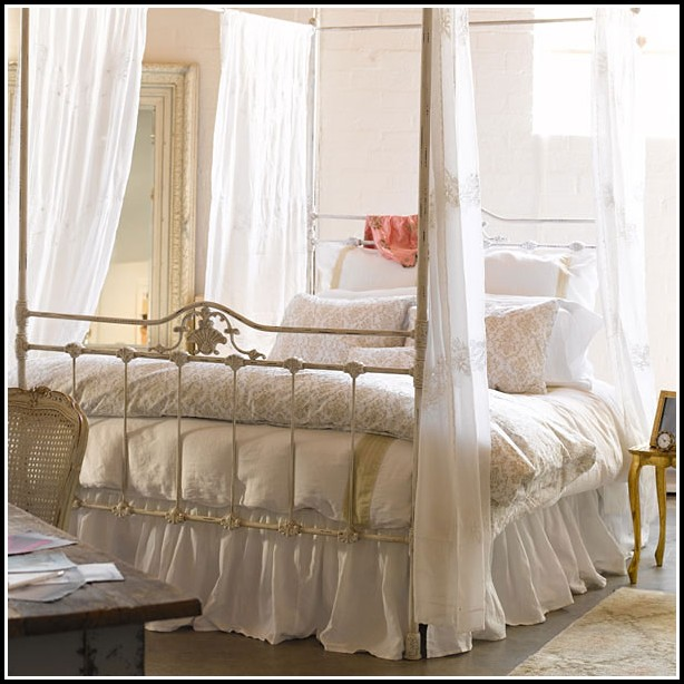 Canopy Bed Curtains 4 Poster Fantasy Palace Net