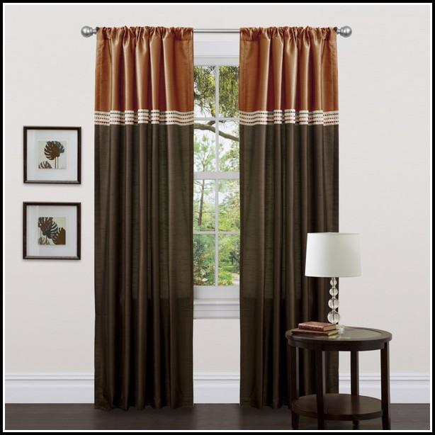 Chocolate Brown Curtain Panels