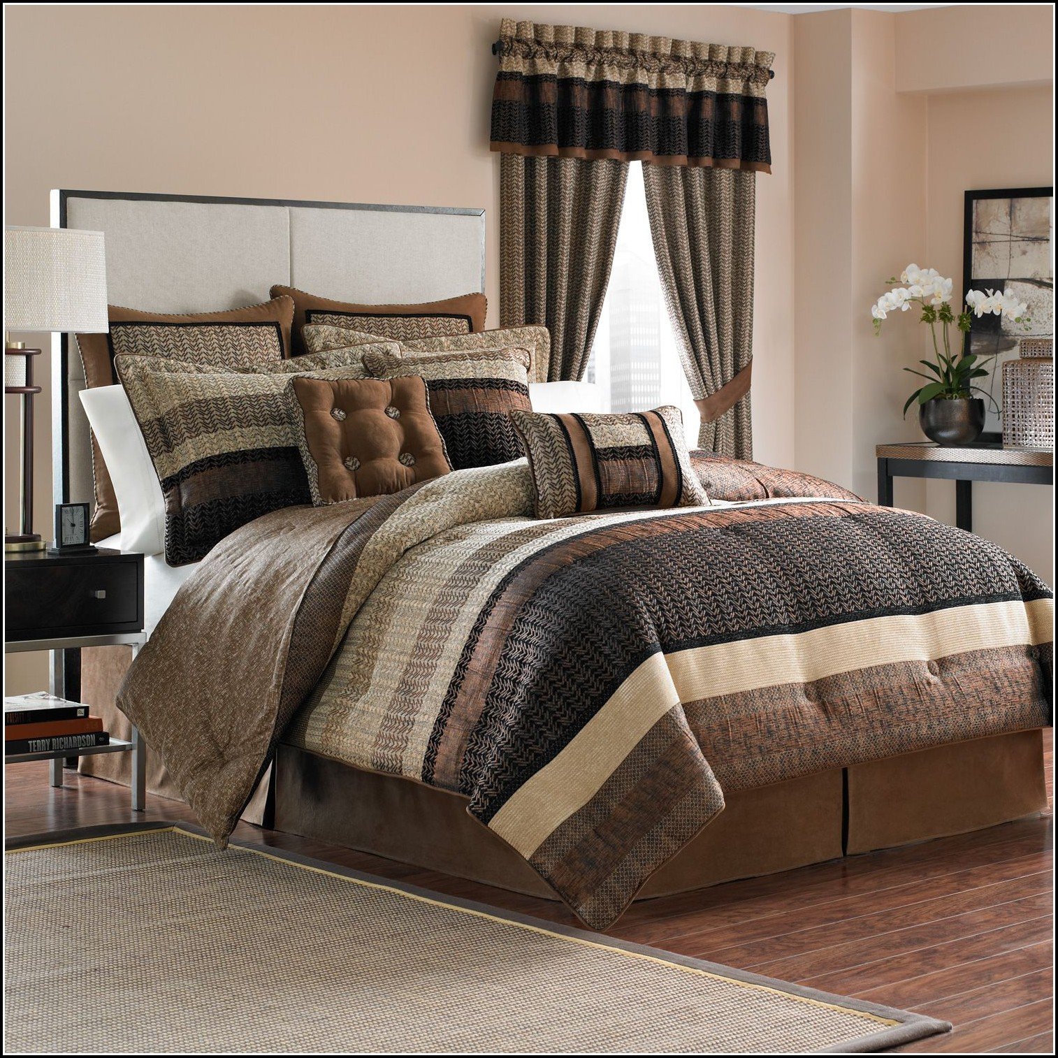 Comforter And Curtain Sets Queen Curtains Home Design