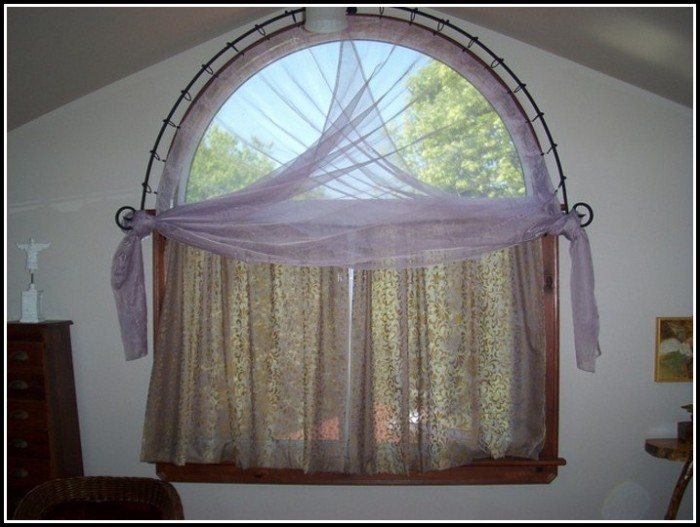 Curtain For Half Circle Door Window