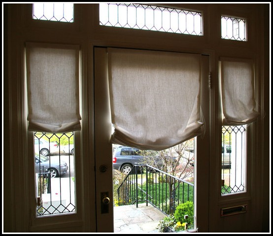 Curtain For Narrow Door Window