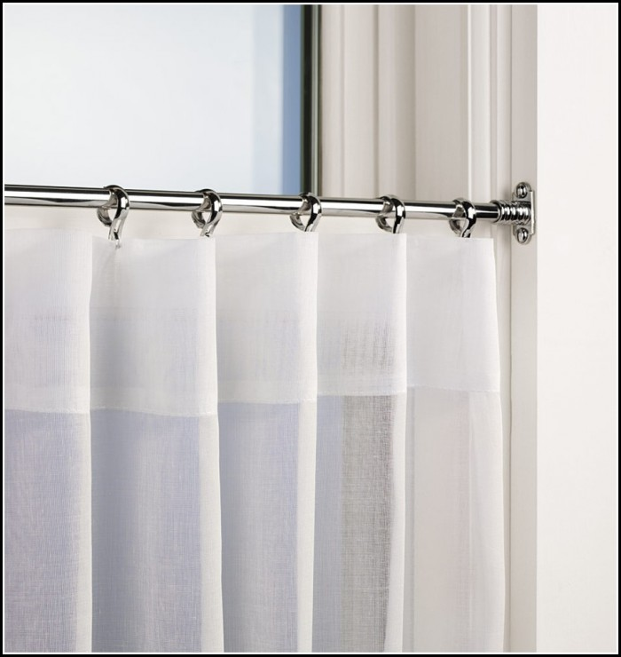 Inside Mount Curtain Rod Toronto Curtains Home Design
