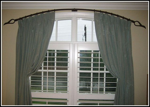 Window Treatments For Half Arched Windows Curtains