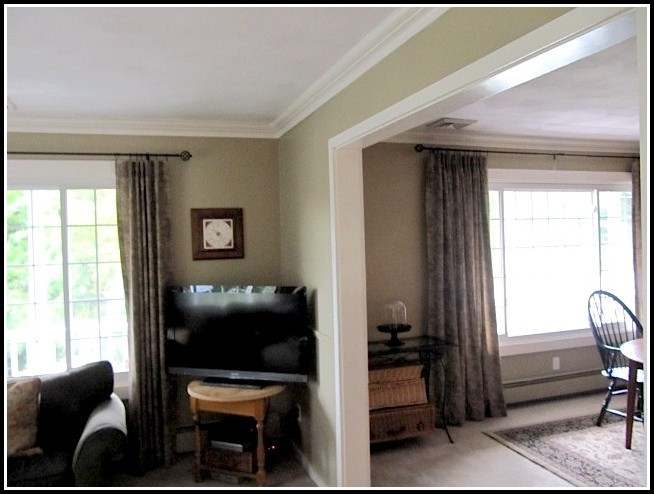 Curtain Rods For Extra Wide Windows