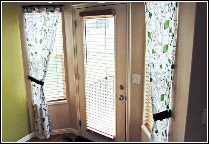 Curtains For Small Side Door Windows