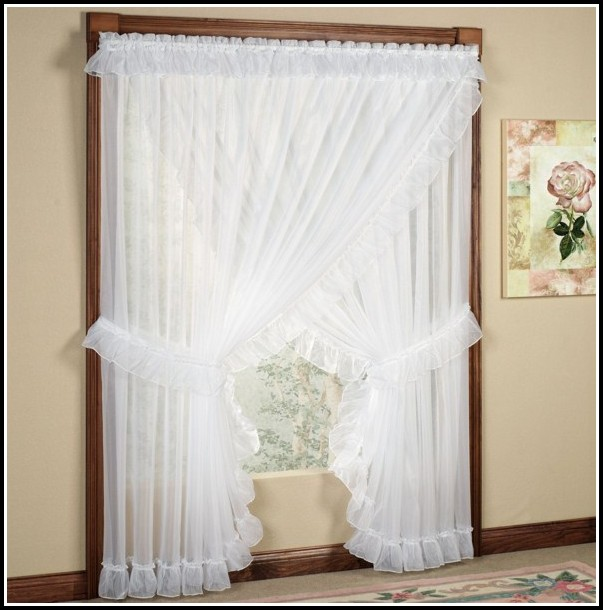 Curtains For Small Window Above Bed