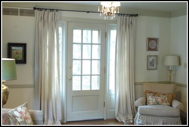 Curtains For Small Windows Beside Door