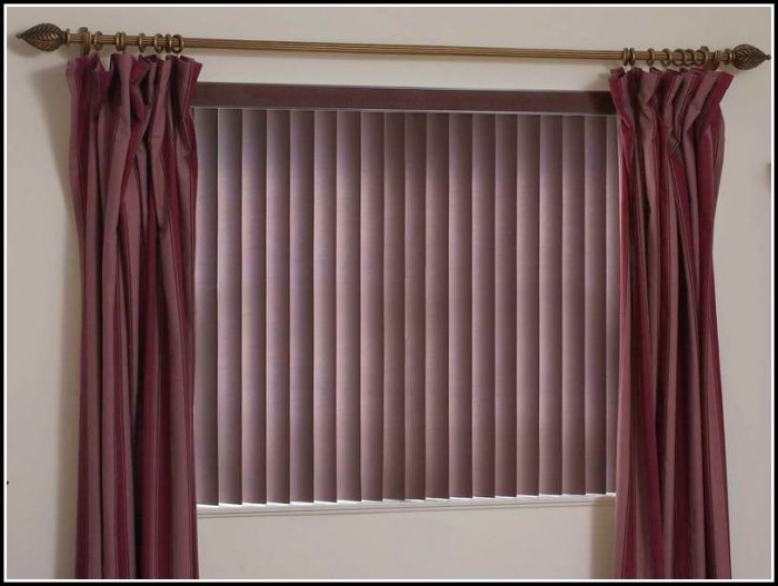 Curtains For Windows With Wood Blinds