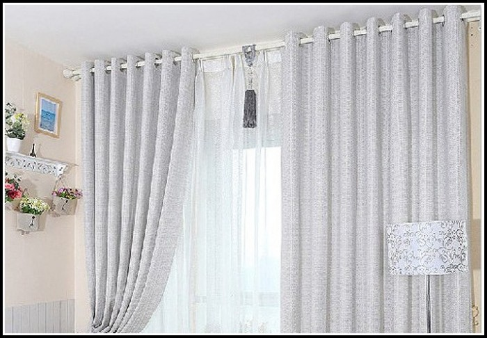 Dark Grey Room Darkening Curtains