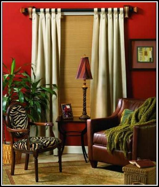 Decorative Double Curtain Rod Set