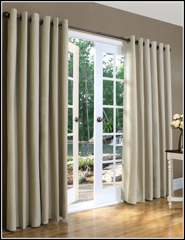 Extra Wide Grommet Top Drapes Curtains Home Design