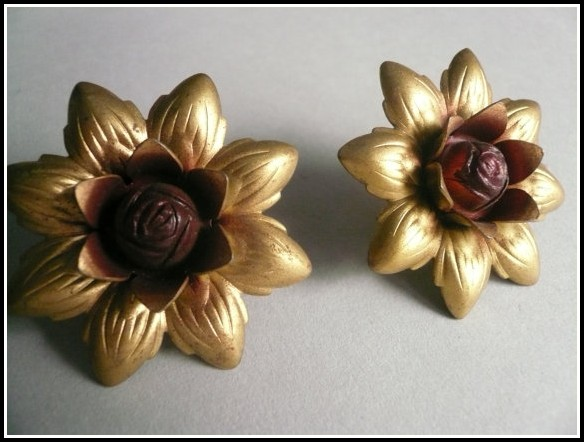 Gold Coloured Curtain Tie Backs