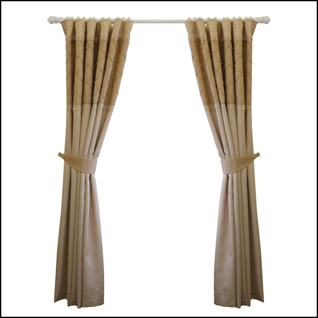 Gold Faux Silk Curtains Uk