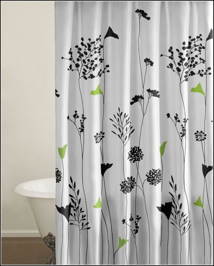 Green And Black Kitchen Curtains