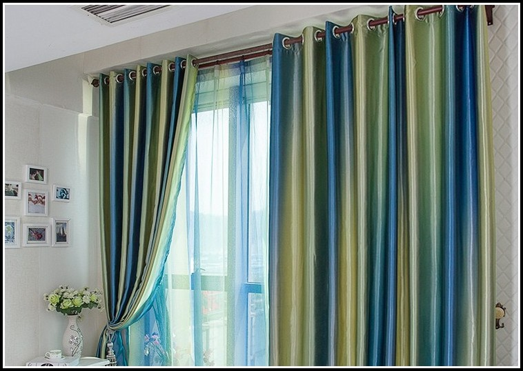 Green And Gold Shower Curtains