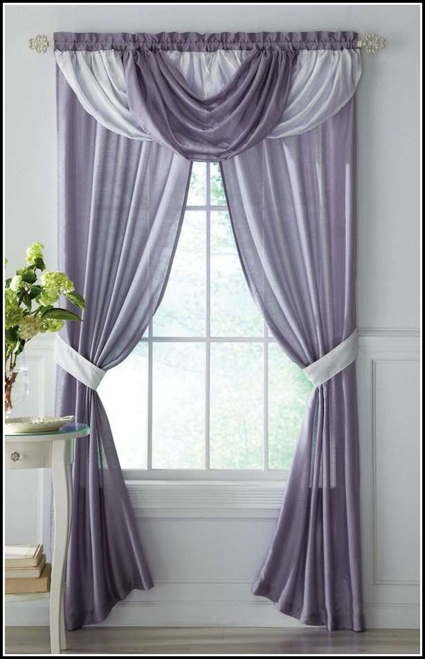 Grey And White Curtain Fabric