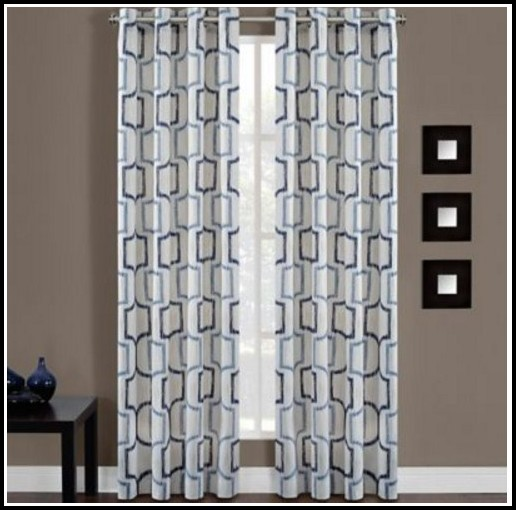 Grommet Top Sheer Curtain Panels