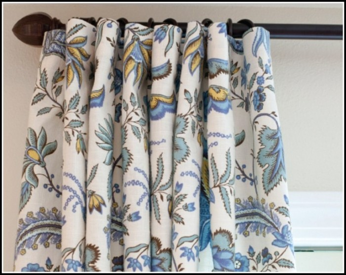 Hanging Back Tab Curtains With Clips
