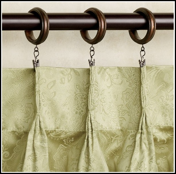 Hanging Curtains With Ring Clips