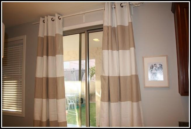 Brown And White Horizontal Striped Curtains Curtains Home Design Ideas 68qaymrqvo30632