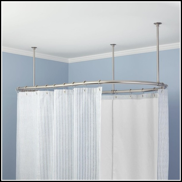 Double Curtain Rods That Hang From Ceiling Curtains Home Design Ideas Wlnx3zyp5233487