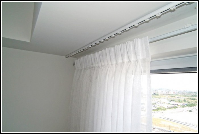 Installing A Curtain Rod On The Ceiling