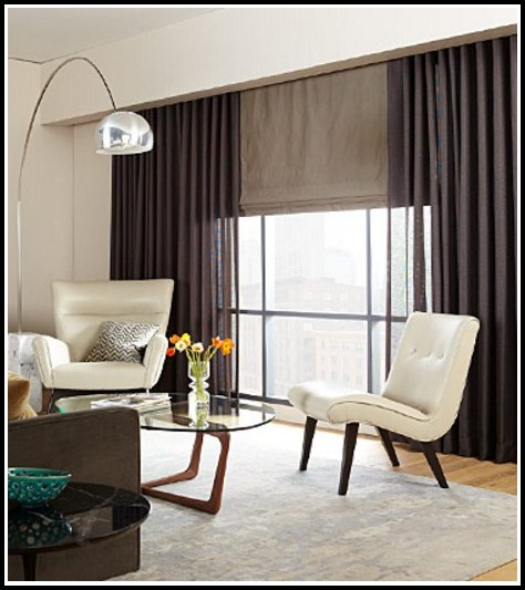 Large Picture Window Curtain Ideas