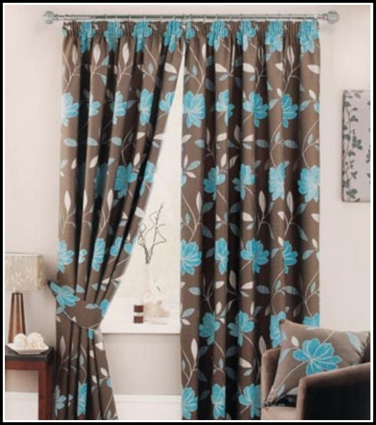 Light Blue And Chocolate Brown Curtains Download Page