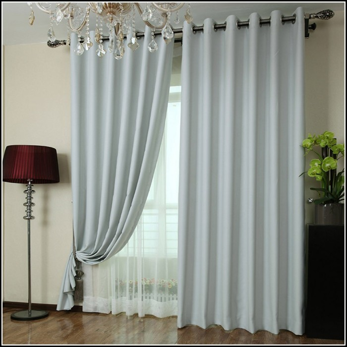 Light Gray Blackout Curtains