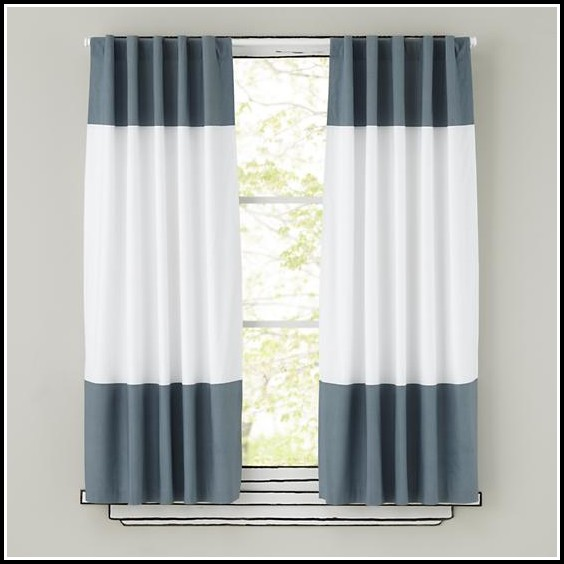 Light Gray Curtain Panels